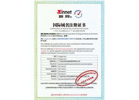 广元佳正机械网站域名证书